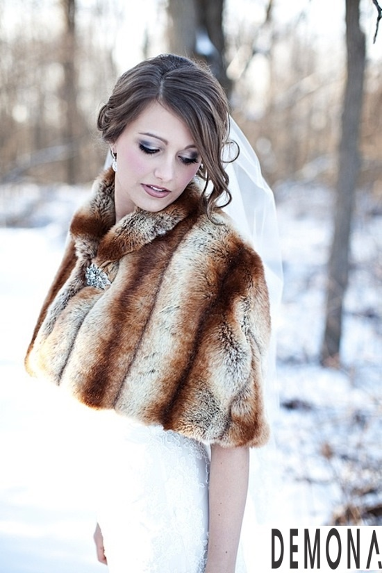 Áo khoác lông nữ đẹp cho cô dâu quyến rũ ấm áp thu đông 2019 – 2021 phần 6