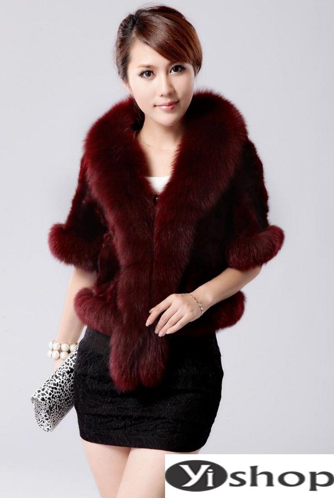 Áo khoác lông nữ đẹp thu đông 2021 - 2022 thời trang công sở ngày se lạnh phần 13
