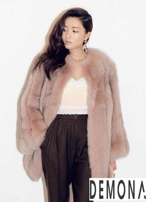 Áo khoác lông nữ hàn quốc đẹp thu đông 2019 – 2021 trẻ trung ấm áp phần 11