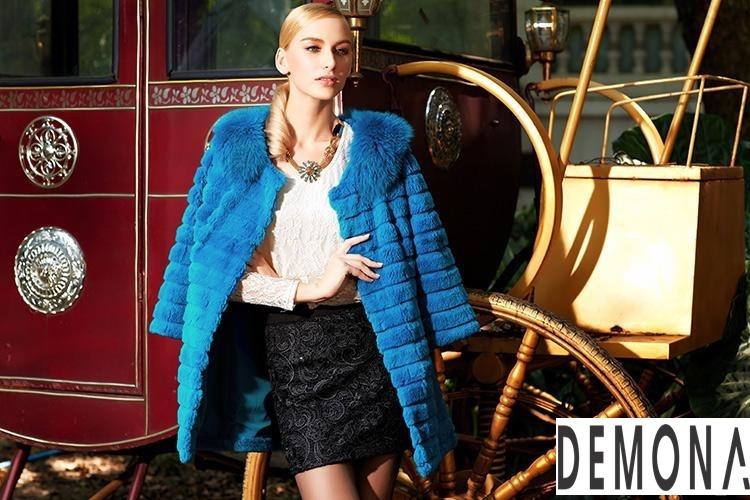 Áo khoác lông nữ kẻ sọc đẹp thu đông 2021– 2021 ấm áp dạo phố phần 10