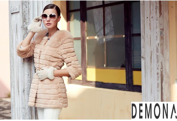 Áo khoác lông nữ kẻ sọc đẹp thu đông 2021– 2021 ấm áp dạo phố phần 2