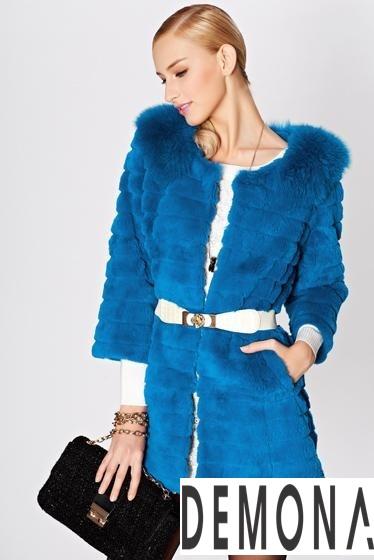 Áo khoác lông nữ kẻ sọc đẹp thu đông 2021– 2021 ấm áp dạo phố phần 9