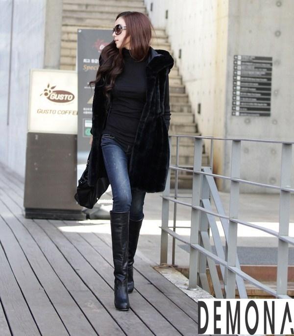 Áo khoác lông nữ kiểu gile đẹp sành điệu không lạnh thu đông 2021– 2021phần 10