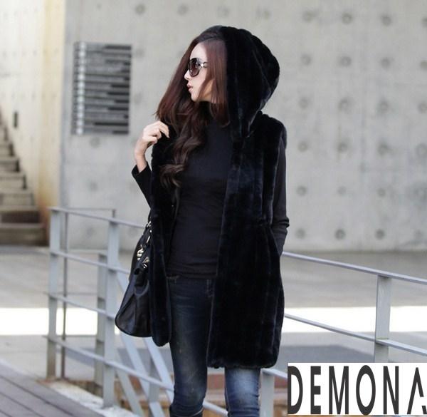 Áo khoác lông nữ kiểu gile đẹp sành điệu không lạnh thu đông 2021– 2021phần 9