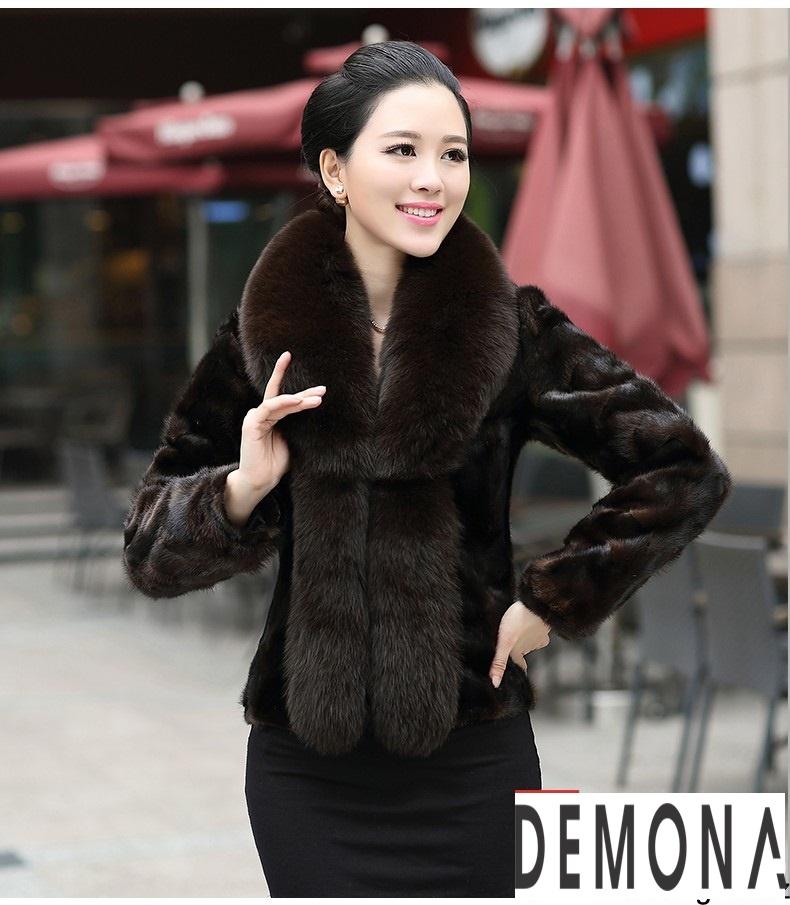 Áo khoác lông nữ màu đen đẹp kiểu hàn quốc thu đông 2021 – 2022phần 3