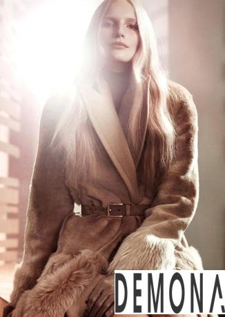 Áo khoác lông nữ màu loang đẹp duyên dáng ấm áp thu đông 2019 – 2021 phần 11