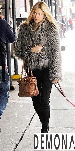 Áo khoác lông nữ màu loang đẹp duyên dáng ấm áp thu đông 2019 – 2021 phần 12
