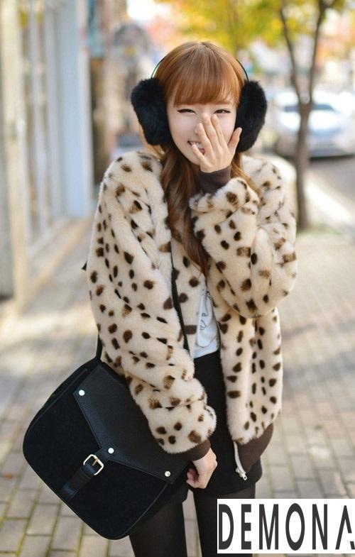 Áo khoác lông nữ nhẹ đẹp thu đông 2019 – 2021 kiểu hàn quốc sành điệu phần 11