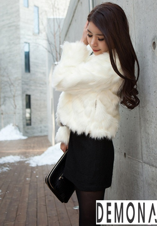 Áo khoác lông nữ nhẹ đẹp thu đông 2019 – 2021 kiểu hàn quốc sành điệu phần 12