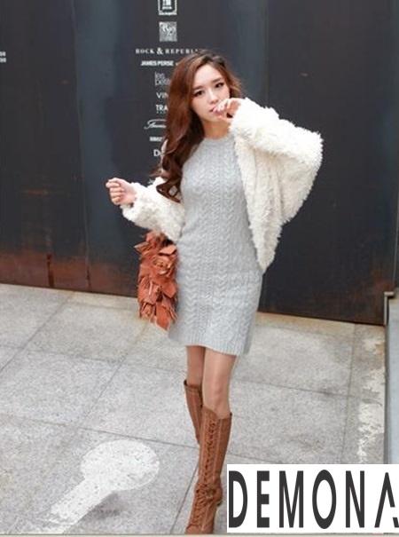 Áo khoác lông nữ nhẹ đẹp thu đông 2019 – 2021 kiểu hàn quốc sành điệu phần 3