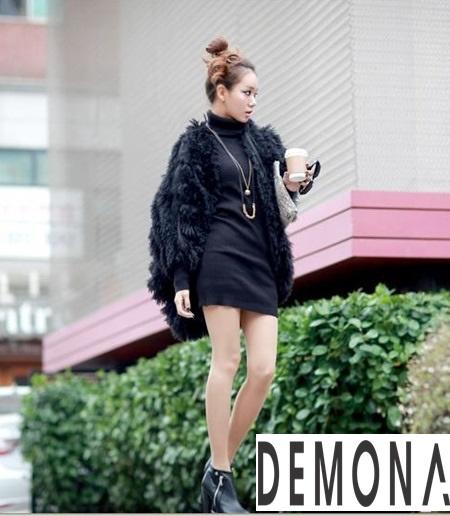 Áo khoác lông nữ nhẹ đẹp thu đông 2019 – 2021 kiểu hàn quốc sành điệu phần 5