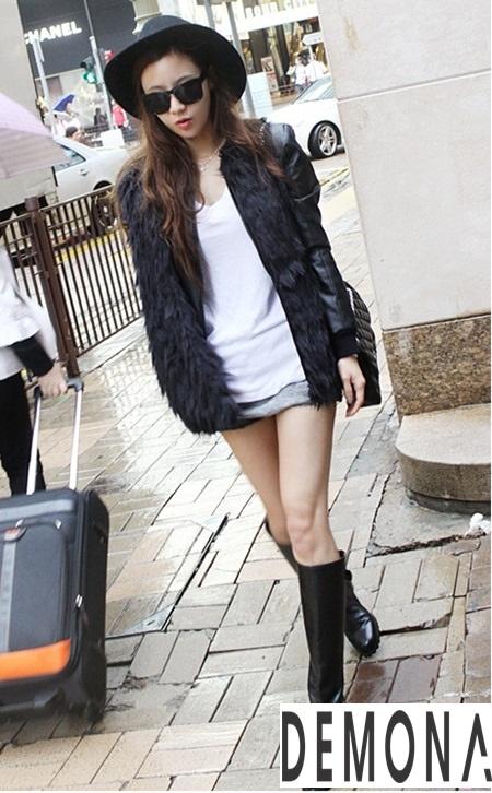 Áo khoác lông nữ nhẹ đẹp thu đông 2019 – 2021 kiểu hàn quốc sành điệu phần 9