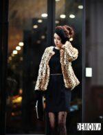 Áo khoác lông nữ xù hàn quốc đẹp sang trọng đẳng cấp thu đông 2021 – 2022