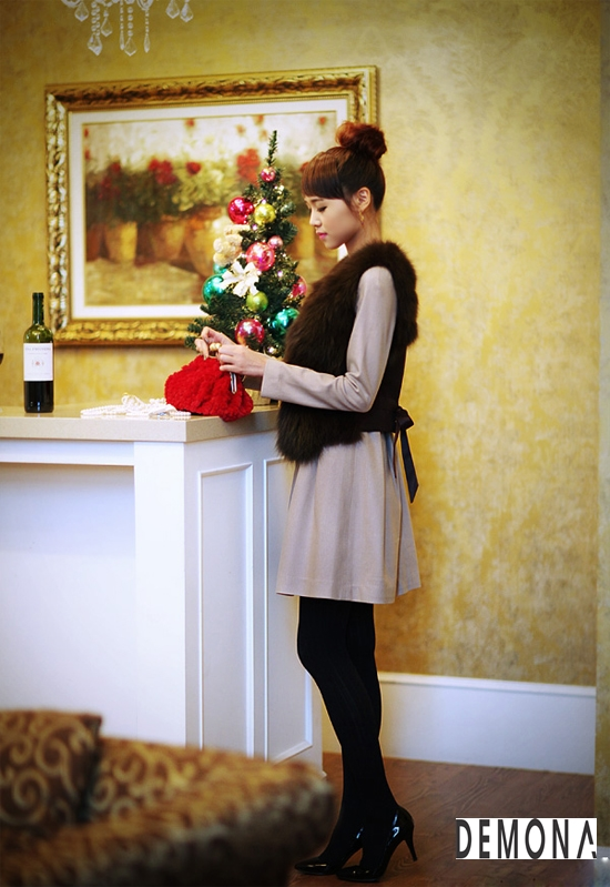 Áo khoác lông nữ xù hàn quốc đẹp sang trọng đẳng cấp thu đông 2019 – 2021 phần 2