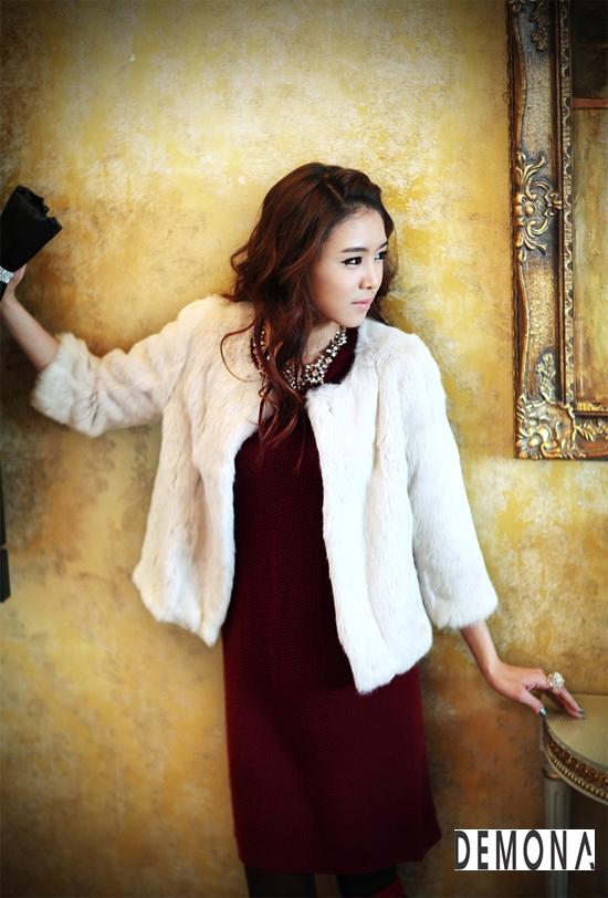 Áo khoác lông nữ xù hàn quốc đẹp sang trọng đẳng cấp thu đông 2019 – 2021 phần 3