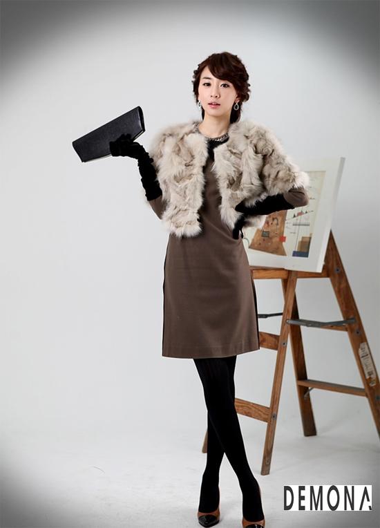 Áo khoác lông nữ xù hàn quốc đẹp sang trọng đẳng cấp thu đông 2019 – 2021 phần 5