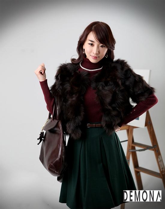 Áo khoác lông nữ xù hàn quốc đẹp sang trọng đẳng cấp thu đông 2019 – 2021 phần 8