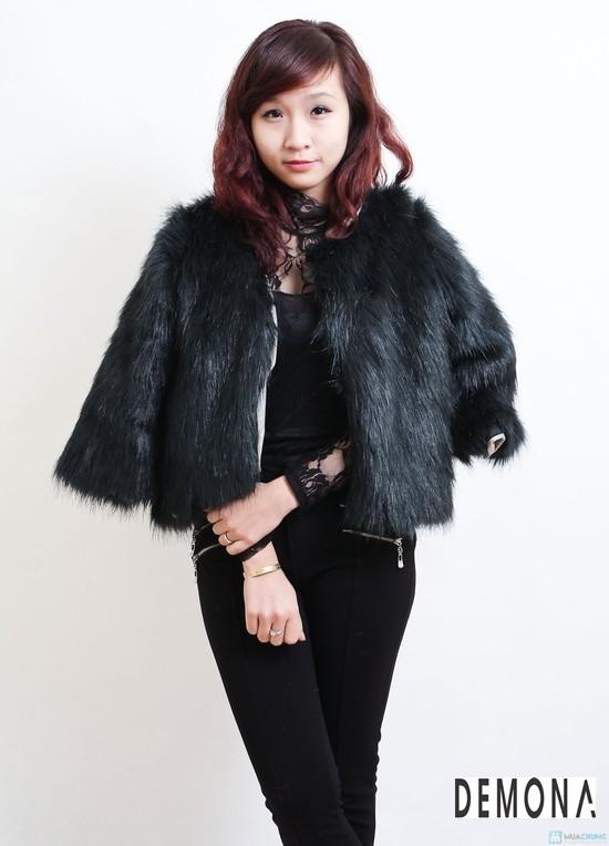 Áo khoác lông nữ xù hàn quốc đẹp sang trọng đẳng cấp thu đông 2019 – 2021 phần 9