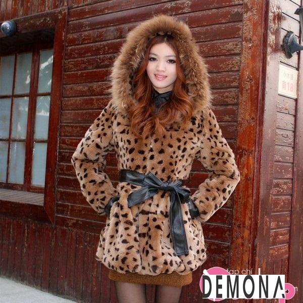 Áo khoác lông thú nữ đẹp sang chảnh ấm áp thu đông 2019 – 2021 phần 11
