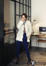 Áo khoác lông thú nữ Hàn Quốc đẹp sang trọng đẳng cấp thu đông 2021 – 2022
