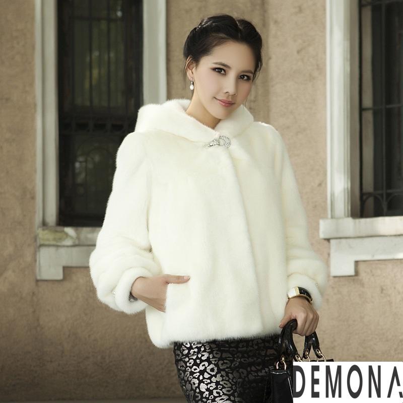 Áo khoác lông trắng nữ đẹp thu đông 2019 – 2021 duyên dáng ấm áp phần 4