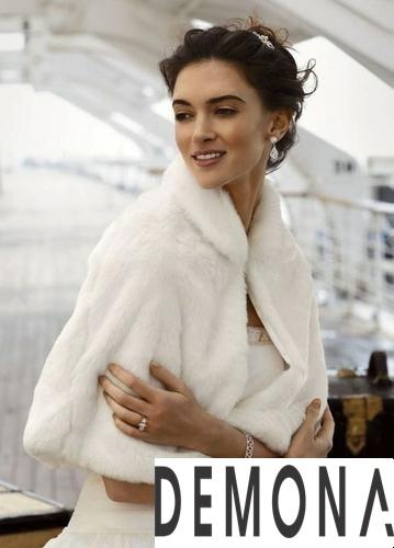 Áo khoác lông trắng nữ đẹp thu đông 2019 – 2021 duyên dáng ấm áp phần 5
