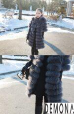 Áo khoác lông tự nhiên nữ đẹp thu đông 2021 – 2022 ấm áp sành điệu