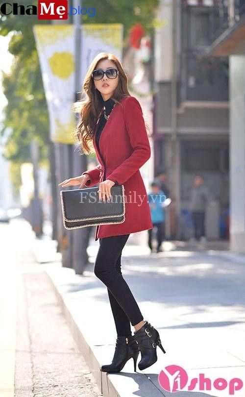 Áo khoác măng tô nữ đẹp thu đông 2021 - 2022 món đồ hiện đại cho dân công sở