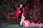 Áo khoác măng tô nữ màu sắc đẹp tỏa sáng khi dự tiệc thu đông 2021 – 2022