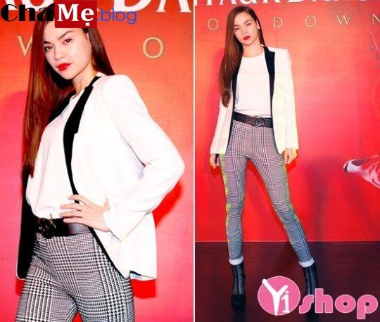Áo khoác nữ blazer đẹp đông 2021 - 2022 duyên dáng như sao Việt