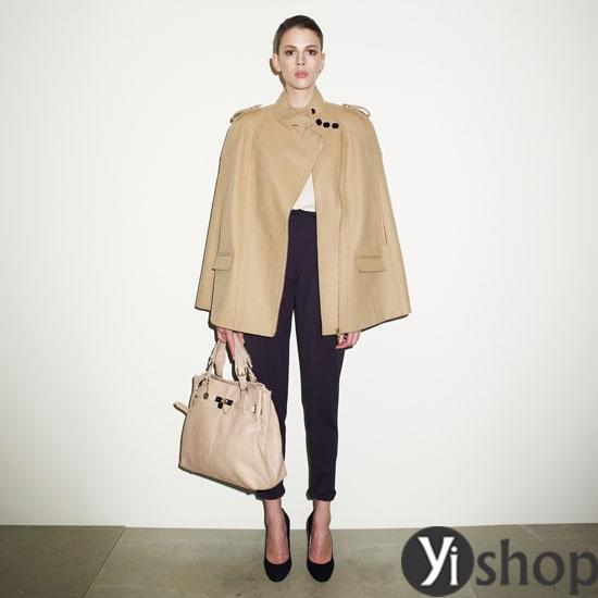 Áo khoác nữ cape coat đẹp thu đông 2021 - 2022 cho cô nàng sành thời trang phần 1