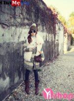 Áo khoác nữ cardigan len dáng dài đẹp ấm áp đông 2021 – 2022 không lạnh