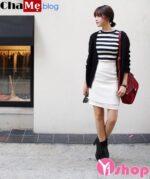 Áo khoác nữ cardigan mỏng đẹp thời trang đông 2021 – 2022