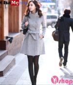 Áo khoác nữ công sở Hàn Quốc đẹp ấm áp không lạnh đông 2021 – 2022