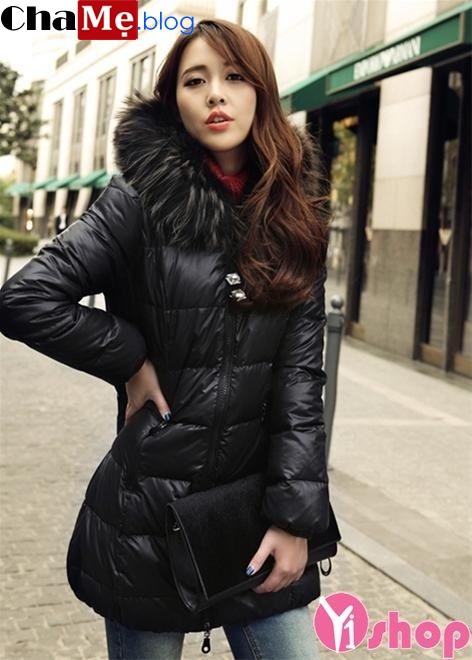 Áo khoác nữ công sở Hàn Quốc đẹp ấm áp không lạnh đông 2021 - 2022