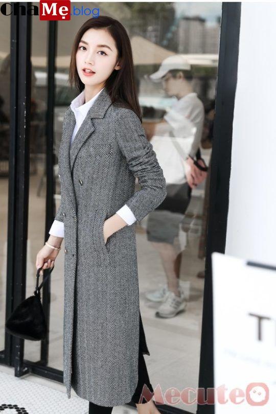 Áo khoác nữ dạ đẹp 2021 - 2022 cho bạn gái ấm áp ngày gió mùa