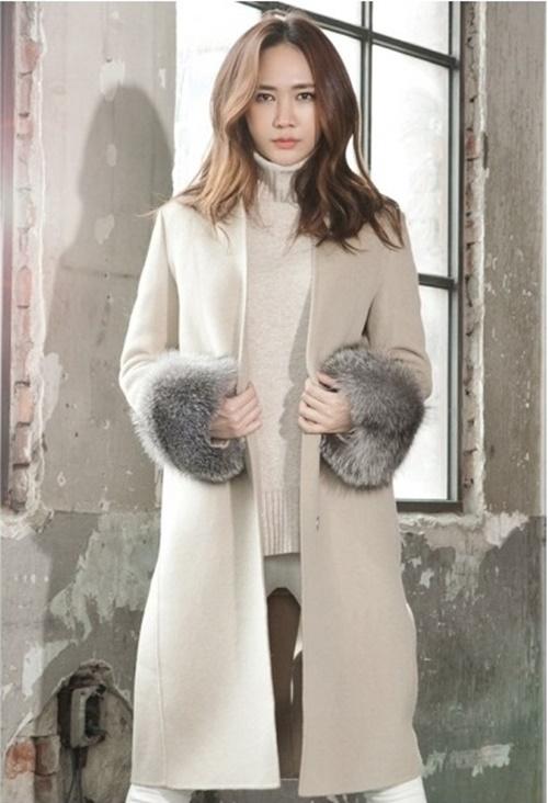 Áo khoác nữ dáng dài đẹp cho nàng công sở ấm áp ngày lạnh phần 1