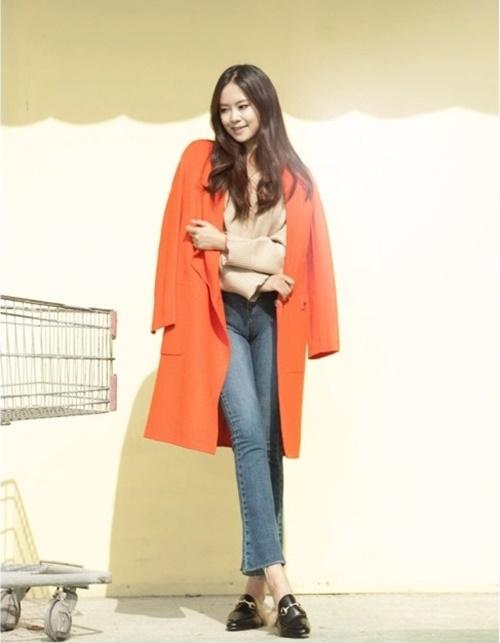 Áo khoác nữ dáng dài đẹp cho nàng công sở ấm áp ngày lạnh phần 2