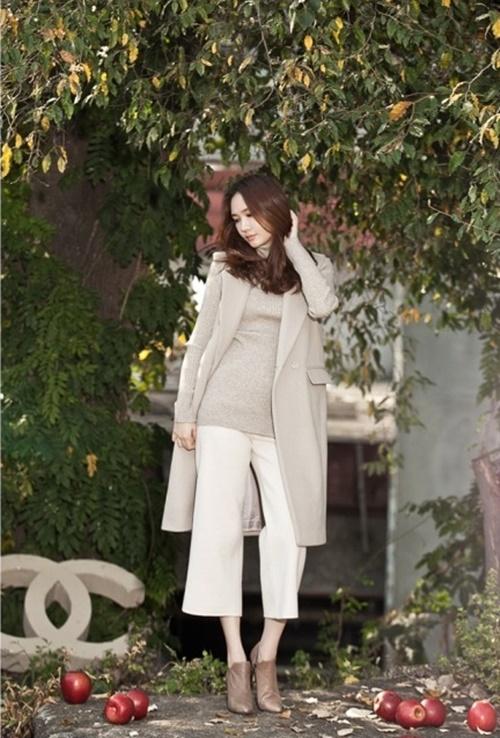 Áo khoác nữ dáng dài đẹp cho nàng công sở ấm áp ngày lạnh phần 6
