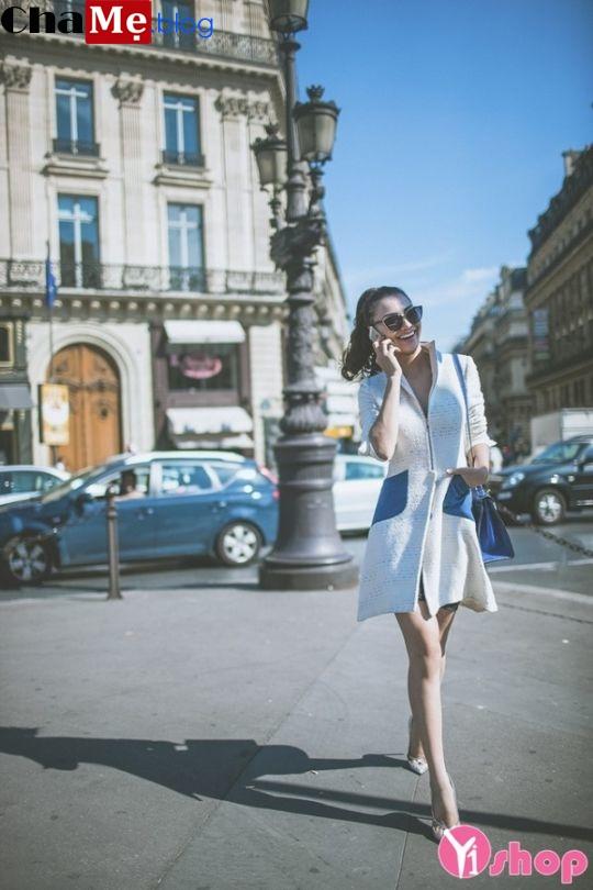 Áo khoác nữ dáng dài đẹp đông 2021 - 2022 cho nàng đa phong cách
