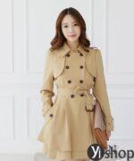 Áo khoác nữ dáng dài đẹp khiến giới trẻ Hàn Quốc mê mệt thu đông 2021 – 2022