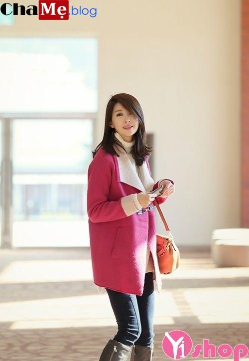 Áo khoác nữ dáng dài đẹp thu đông 2021 - 2022 cho nàng công sở điệu đà