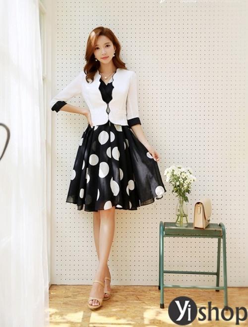 Áo khoác nữ dáng ngắn đẹp thanh lịch cho quý cô công sở U30 phần 2