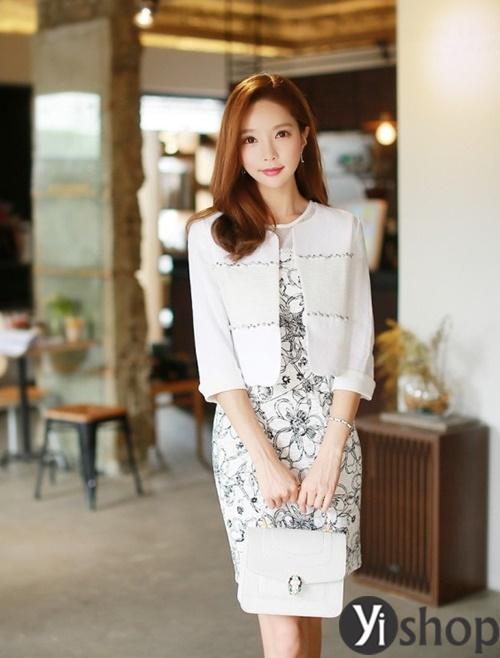 Áo khoác nữ dáng ngắn đẹp thanh lịch cho quý cô công sở U30 phần 6
