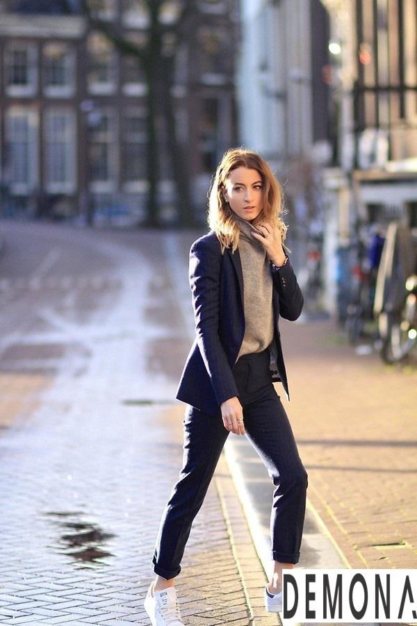 Áo khoác nữ đẹp xu hướng thời trang ấm áp thu đông 2021 – 2022 phần 9