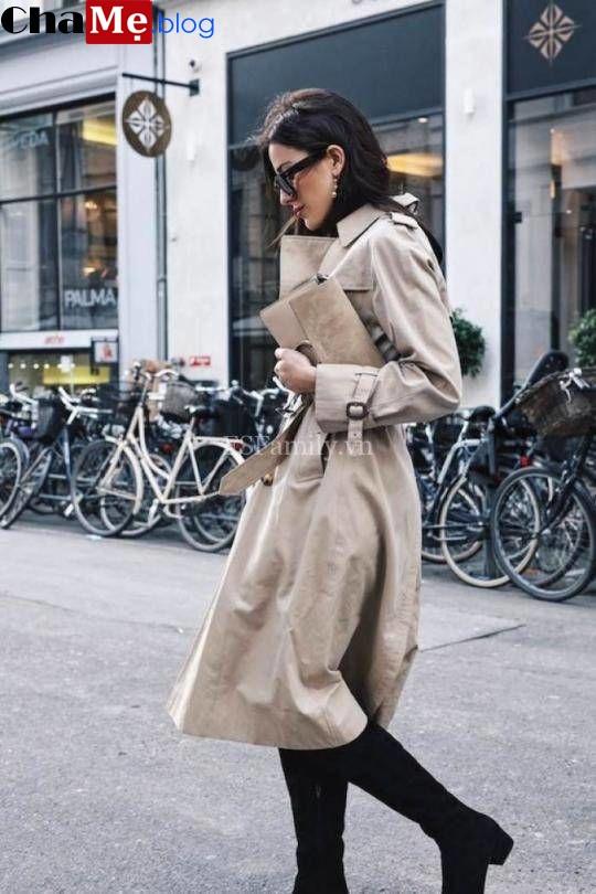 Áo khoác nữ đẹp xu hướng thu đông 2021 - 2022 hợp theo từng dáng người