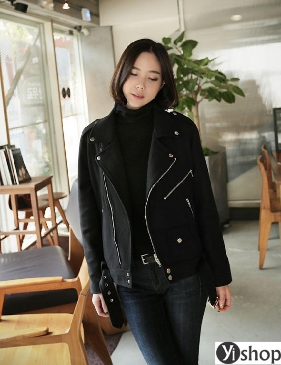 Áo khoác nữ Hàn Quốc đẹp nhất thu đông 2021 - 2022 ấm áp không lạnh