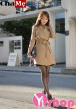 Áo khoác nữ kiểu dáng đẹp thu đông 2021 – 2022 ấm áp thời trang