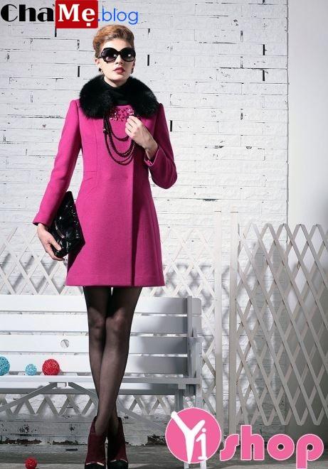 Áo khoác nữ kiểu dáng đẹp thu đông 2021 - 2022 ấm áp thời trang