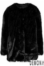 Áo khoác nữ lông rũ đẹp thu đông 2021 – 2022 cá tính tới công sở